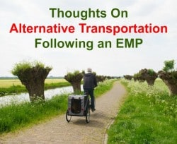 Thoughts on alternative transportation following an EMP | Backdoor Survival
