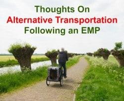 Thoughts on alternative transportation following an EMP | Backdoor Survival
