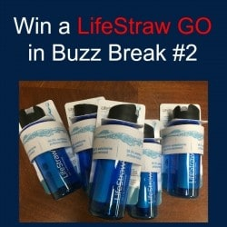 Win a LifeStraw Go Water Filter Bottle | Backdoor Survival