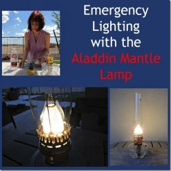 Review: Emergency Lighting with the Aladdin Mantle Lamp + Giveaway