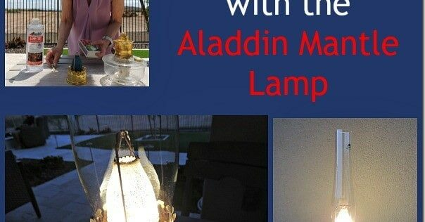 Review: Emergency Lighting with the Aladdin Mantle Lamp