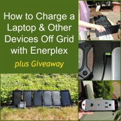 Review: How to Charge a Laptop Off-Grid with Enerplex + Giveaway