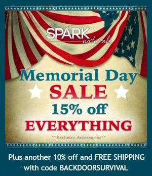 Memorial Day 2016 Sale