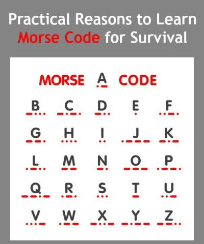 Practical Reasons to Learn Morse Code for Survival