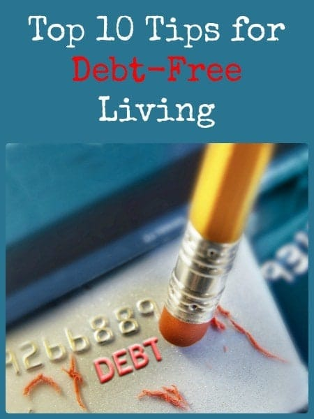 Top 10 Tips for Debt-Free Living | Backdoor Survival
