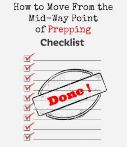How to Move from Midway Point of Prepping | Backdoor Survival