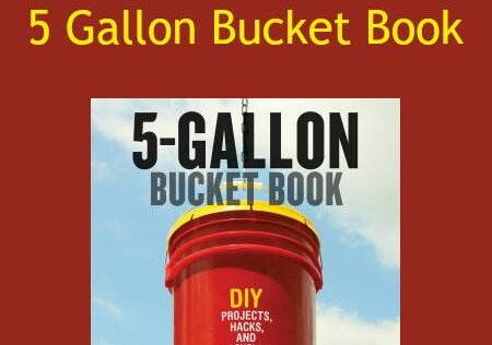 Prepper Book Festival 12: 5-Gallon Bucket Book