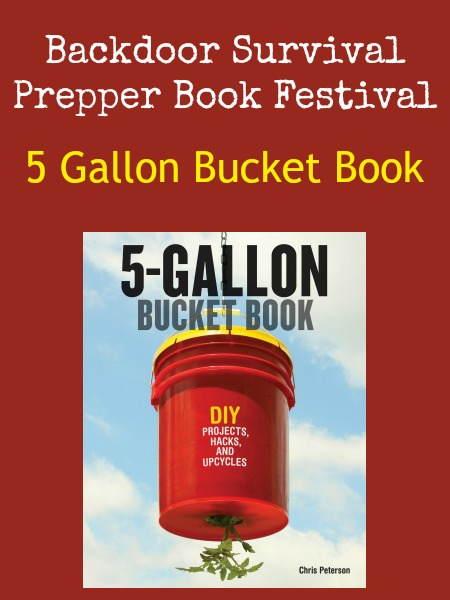 5 Gallon Bucket Book   Backdoor Survival