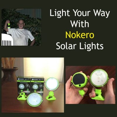 Light Your Way With Nokero Solar Lights | Backdoor Survival