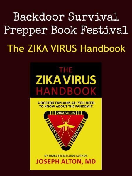 Prepper Book Festival Zika Virus Handbook | Backdoor Survival