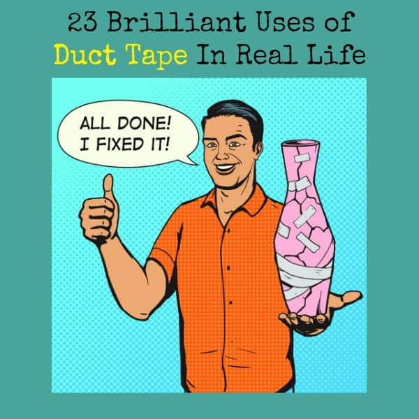 23 Brilliant Uses of Duct Tape In Real Life | Backdoor Survival