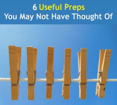 6 Useful Preps You May Not Have Thought Of