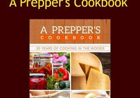 Prepper Book Festival #12: A Prepper's Cookbook