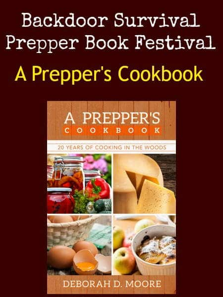 A Prepper's Cookbook   Backdoor Survival