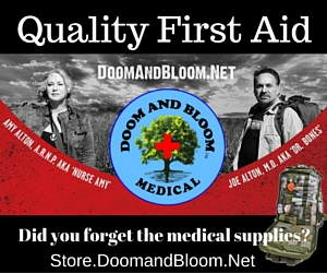 Doom and Bloom Store Quality First Aid Kits | Backdoor Survival