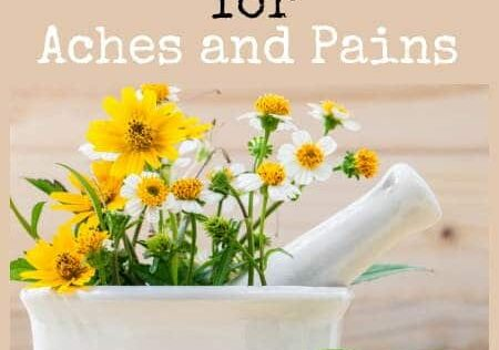 18 Herbal Remedies for Aches and Pains