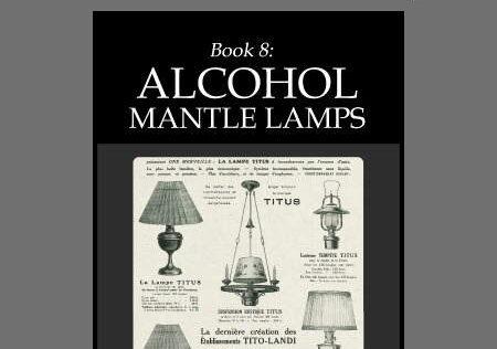 Prepper Book Festival 12: Alcohol Mantle Lamps