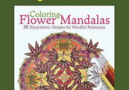 Prepper Book Festival 12: Coloring Flower Mandalas