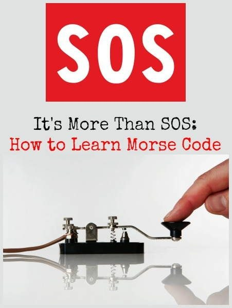 How to Learn Morse Code | Backdoor Survival