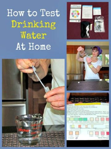 Survival Buzz: How to Test Your Drinking Water