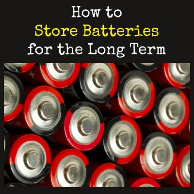 How to Store Batteries for the Long Term