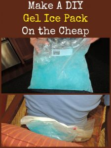 Make A Gel Ice Pack On the Cheap | Backdoor Survival