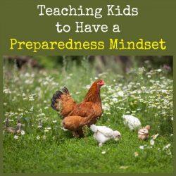 Teaching Kids to Have a Preparedness Mindset | Backdoor Survival