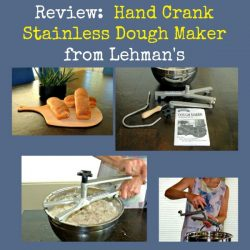 Hand Crank Stainless Dough Maker from Lehman's | Backdoor Survival