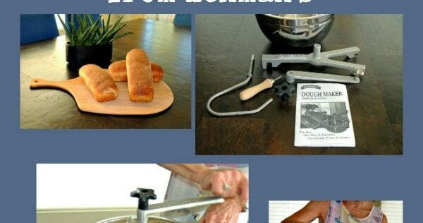Review: Hand Crank Stainless Dough Maker from Lehman's