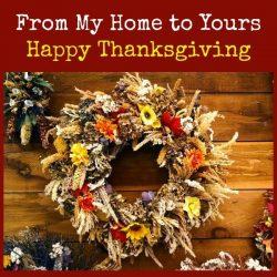 Happy Thanksgiving 2016   Backdoor Survival