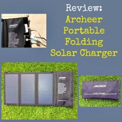 Archeer Portable Folding Solar Charger | Backdoor Survival