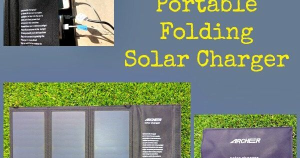 Review: Archeer Portable Folding Solar Charger