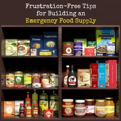 Frustration-Free Tips for Building an Emergency Food Supply