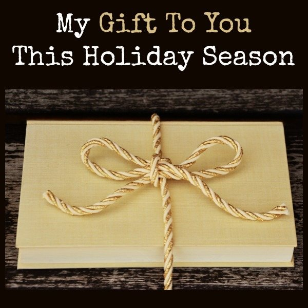 My Gift to You This Holiday Season | Backdoor Survival