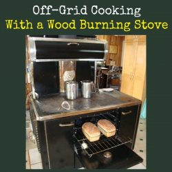 Cooking Off Grid With a Wood Burning Stove | Backdoor Survival
