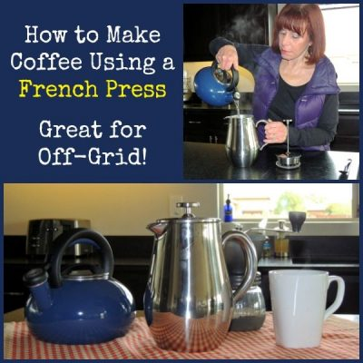How to Make Coffee Using a French Press + Giveaway