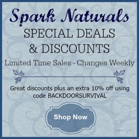 Spark Naturals Weekly Sales | Backdoor Survival