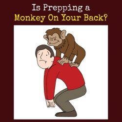 Is Prepping a Monkey On Your Back?