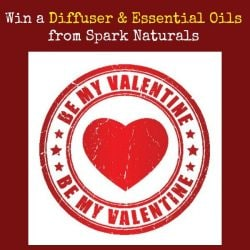 Be My Valentine: Win a Diffuser and Essential Oils from Spark Naturals