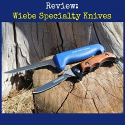 Wiebe Specialty Skinning Knives | Backdoor Survival