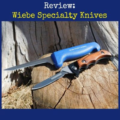 Review: Learn About Wiebe Specialty Skinning Knives + Giveaway