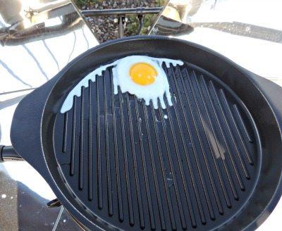 Solsource Frying an Egg | Backdoor Survival