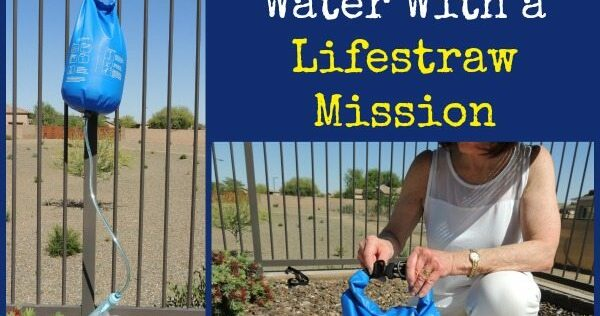Review: How to Filter Water With a Lifestraw Mission