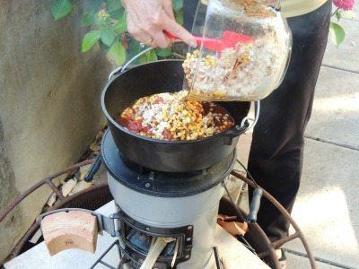 EcoZoom Chicken Chili Ingredients   Backdoor Survival