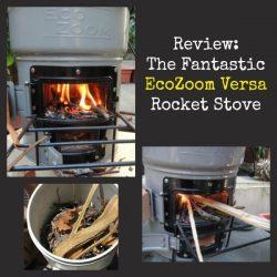 Fantastic EcoZoom Versa Rocket Stove | Backdoor Survival