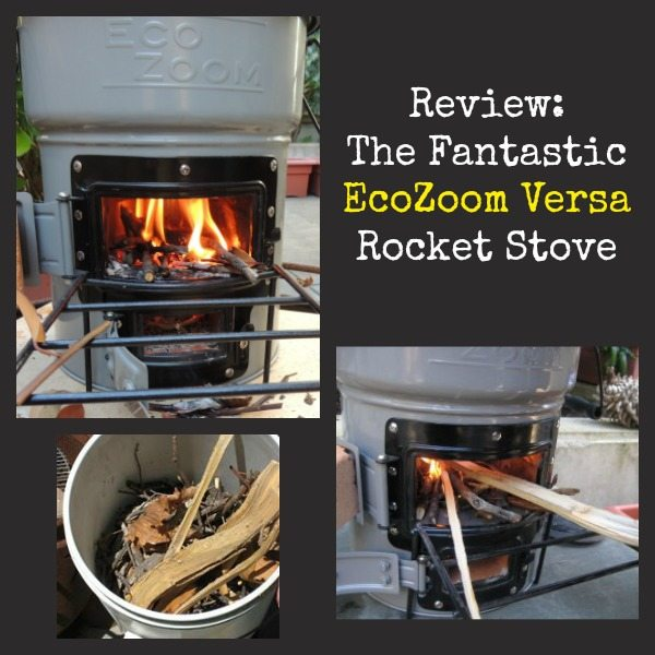 Fantastic EcoZoom Versa Rocket Stove   Backdoor Survival