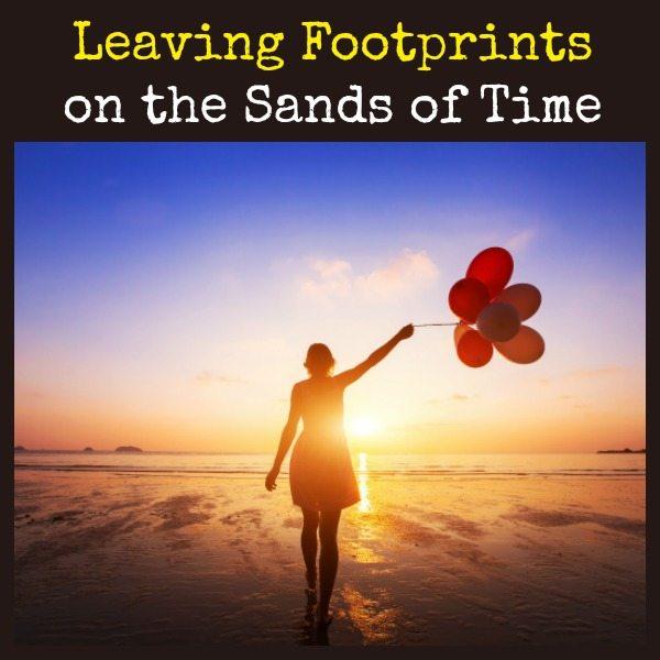 Leaving Footprints in the Sands of Time | Backdoor Survival