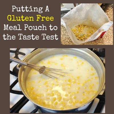Putting A Gluten Free Meal Pouch to the Taste Test