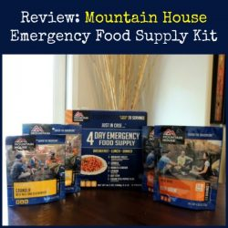 Review: Mountain House Emergency Food Supply Kit