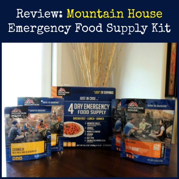 Review Mountain House Emergency Food Supply Kit | Backdoor Survival